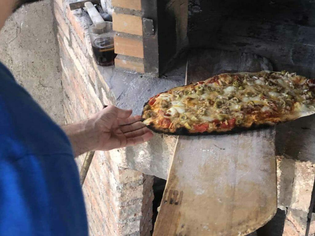Pala para horno de pizza