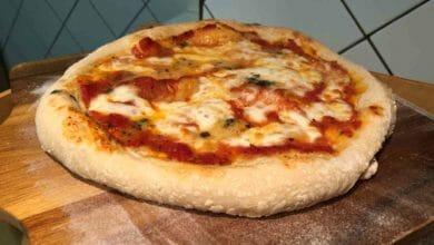 Photo of Los ingredientes para una pizza casera riquísima, fácil y rápida