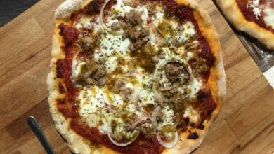 Photo of Receta fácil de masa de pizza con levadura royal