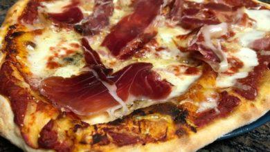 Photo of Pizza con jamón y queso, paso a paso y súper fácil